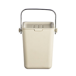 Typhoon® Nubu Caddy Food Compost Bin - Cream 3.5L