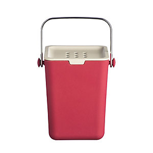 Typhoon® Nubu Caddy Food Compost Bin - Red 3.5L