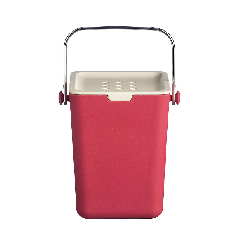 Typhoon® Nubu Caddy Food Compost Bin - Red