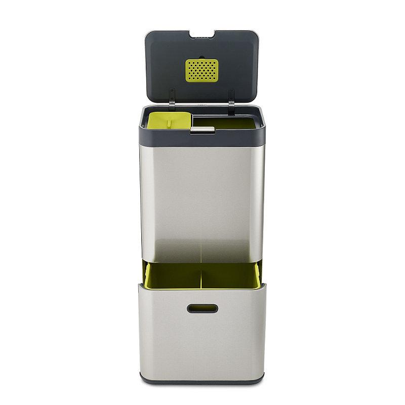 Joseph Joseph® Totem Intelligent Waste System 60L Stainless