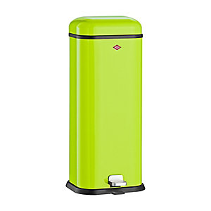 Wesco® Superboy Compact Kitchen Waste Pedal Bin - Lime 20L