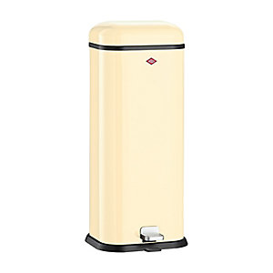 Wesco® Superboy Compact Kitchen Waste Pedal Bin - Almond 20L