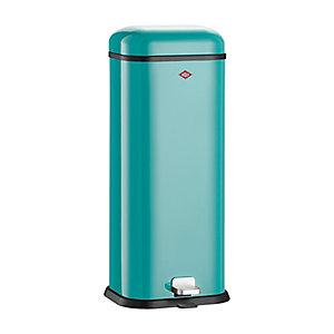 Wesco® Superboy Compact Kitchen Waste Pedal Bin - Turquoise 20L
