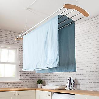 Moderner ausziehbarer Wäschehänger alt image 3