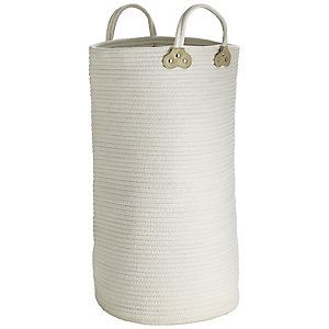 Cotton Braid Laundry Tote 51 L