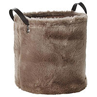 Faux Fur Storage Tote 21.5L