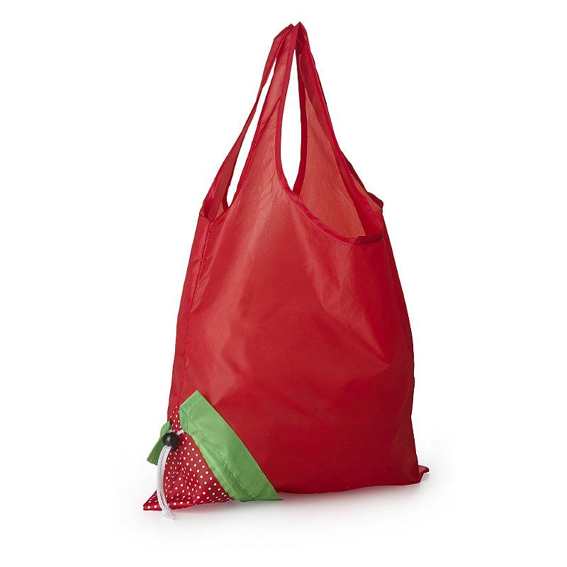 Folding Strawberry Shopper