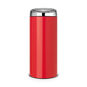 Brabantia® 30 Litre Touch Bin® Passion Red