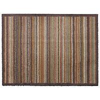 Fußmatte von Turtle Mat mit schmalen ockerfarbenen Streifen