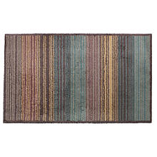 Extra Large Green Multi Gradient Stripe Turtle Mat
