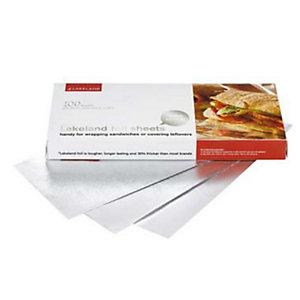 100 Lakeland Foil Sheets