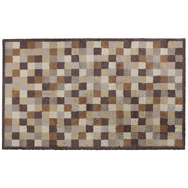 Extra Large Toffee Mini Tiles Turtle Mat