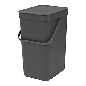 Brabantia® 12L. Sort and Go Grey