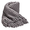 Grey Soft-Touch Throw