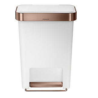 simplehuman Silent Close Kitchen Waste Pedal Bin -
