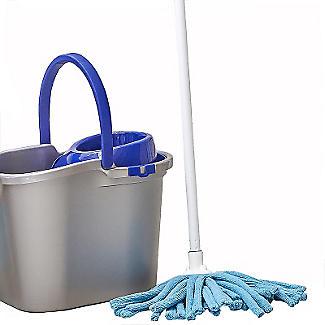 Smart String Mop and Mop Bucket Bundle