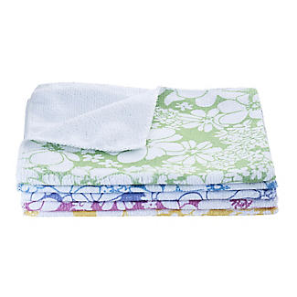 5 Spring Blooms Cleaning Cloths alt image 1