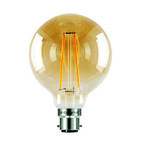 LED Filament Globe Bayonet Bulb Medium ILGLOBB22N004