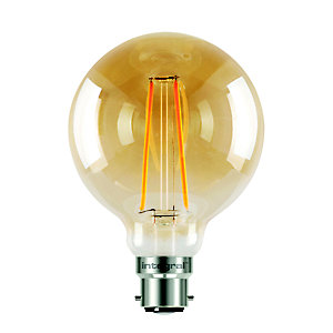 led filament globe bayonet bulb medium ilglobb22n004 in. Black Bedroom Furniture Sets. Home Design Ideas