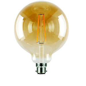 led filament globe bayonet bulb large ilglobb22n006 in. Black Bedroom Furniture Sets. Home Design Ideas
