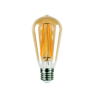 LED Filament Teardrop Screw-in Bulb ILST64E27N001