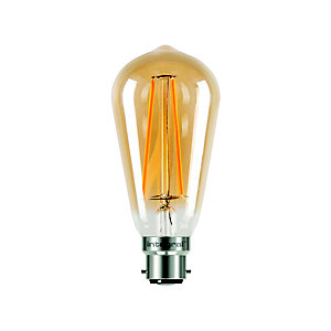 LED Filament Teardrop Bayonet Bulb ILST64B22N002