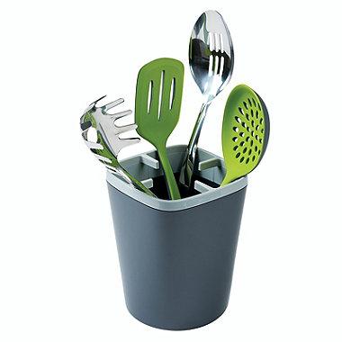 ILO Kitchen Utensil Pot Grey