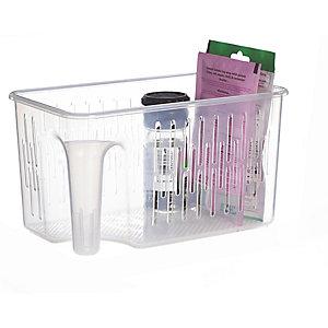 Aufbewahrungsbox mit praktischem Griff, 2er-Pack