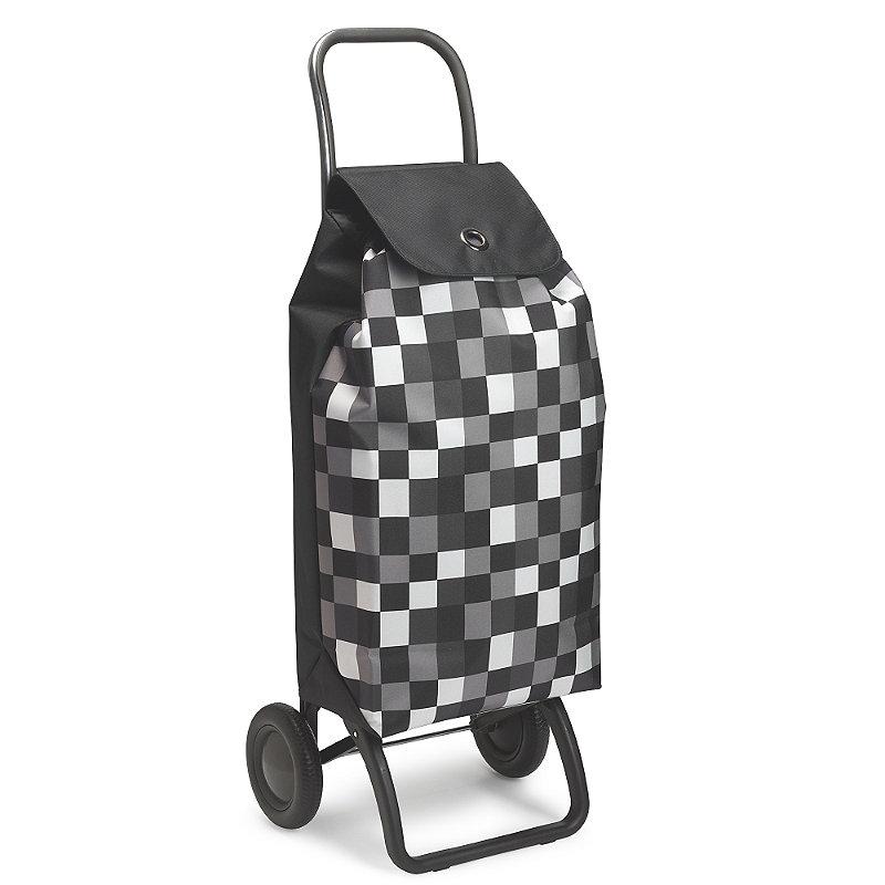 Rolser Deluxe Checkerboard Trolley