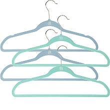 4 Space Saving Non-Slip Hangers – Ocean