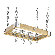 Hahn Metro Natural Wood Ceiling Rack 90200