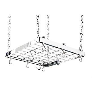 Hahn Square Chrome Ceiling Rack 40802