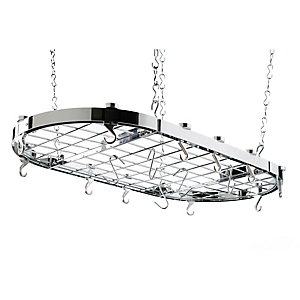 Hahn Oval Chrome Ceiling Rack 40801