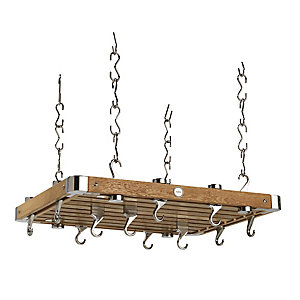 Hahn Oak Rectangular Ceiling Rack 45262
