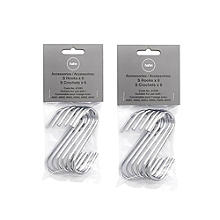 Hahn 12 S-Shaped Hanging Hooks 41205
