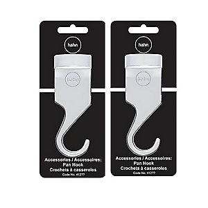 Hahn 2 Chrome Pan Hooks 412212