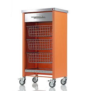 Hahn Chelsea Kitchen Trolley, Orange