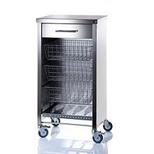 Hahn Steel Cook's Kitchen Trolley