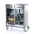 Hahn Double Steel Cook Kitchen Trolley
