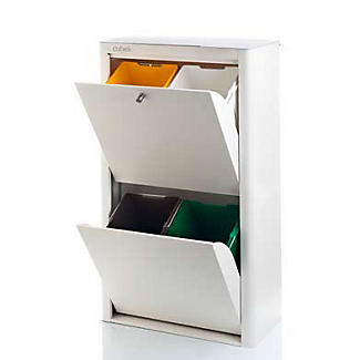 Hahn Cubek 4-Bin Recycling Unit