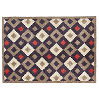 Checkered Tiles Turtle Mat