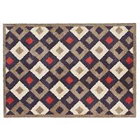 Fußmatte von Turtle Mat mit Karomuster