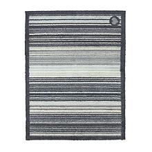 Hug Rug Slate Stripe Mat