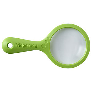 Fridge Mag Magnetic Magnifying Glass