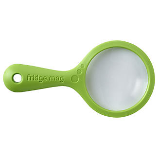 Fridge Mag Magnetic Magnifying Glass