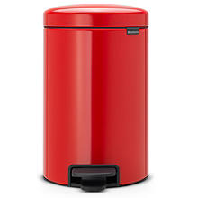 Brabantia® NewIcon Pedal Bin 12L Passion Red