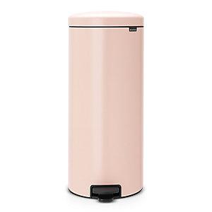 Brabantia® NewIcon Pedal Bin 30L Pale Pink