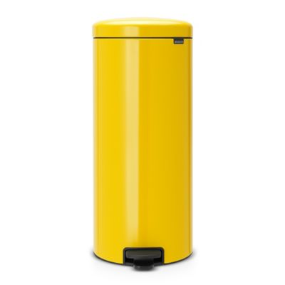 Brabantia&174 NewIcon Pedal Bin 30L Sunshine Yellow