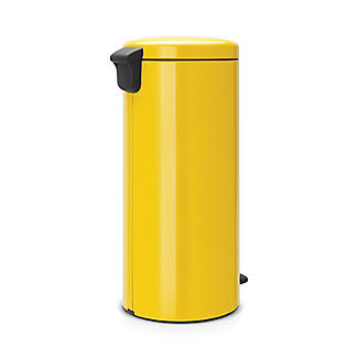 Brabantia® NewIcon Pedal Bin 30L Sunshine Yellow alt image 3