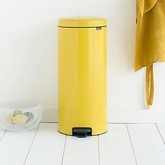 Brabantia® NewIcon Pedal Bin 30L Sunshine Yellow alt image 4